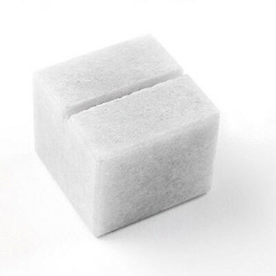 Cube Card Holder - Frosted White