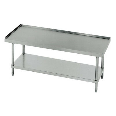 """14 Gauge Stainless Steel Equipment Stand - 48""""Wx30""""D"""