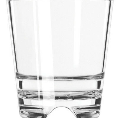 Libbey 92404 12 Ounce Infinium Double Old Fashioned Glass, Case of 12