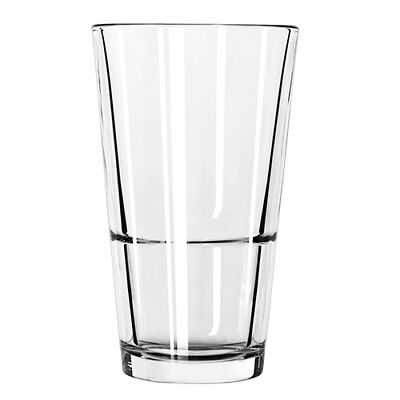 Libbey 15789 Stacking Mixing Glass - 14 oz., Case of 24