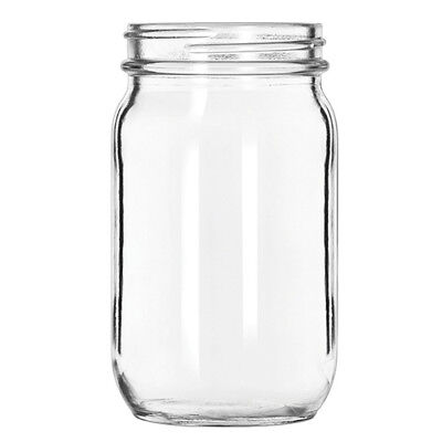 Libbey 92103 16 oz. Glass Drinking Jar