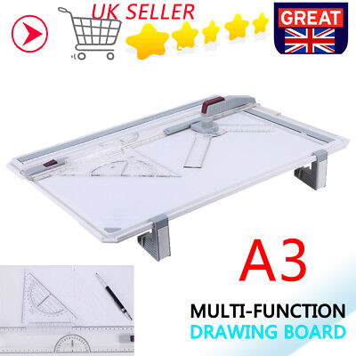A3 Drawing Board Art Architecture Parallel Motion And Adjustable Angle Rulers