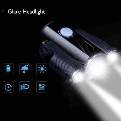 Rechargeable 10000LM CREE XM-L T6 LED Bicycle Bike Light Lamp Headlight Torch UK