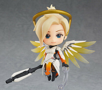 Nendoroid 790 Overwatch Mercy: Classic Skin Edition PVC Action Figure