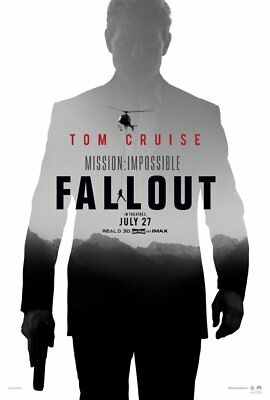 MISSION IMPOSSIBLE FALLOUT Affiche Cinéma 160x120 Movie Poster Tom Cruise