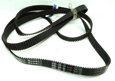 Goodyear 3600 8M 30 Hawk Positive Drive Synchronous Belt, 3600mm L, 30mm W