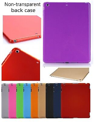 New Soft Rubber Gel Silicon Back Case Cover For Apple iPad 234 5 6 Air Pro Mini