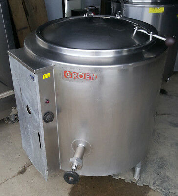 Groen Steam Jacketed Kettle EE-30 Electric Commercial Kitchen Soup 30 Gallon
