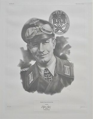 Major Wolfgang Kapp Limited Edition 290/500 Sketch Print Signed J.G. Keck