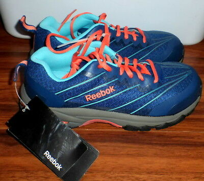 47fffc735d3bfb NWT Women s Reebok Exline Athletic Oxford Composite Toe Work Shoes RB426  Size 8M