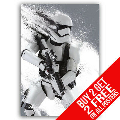 Stormtrooper Poster Star Wars Print A4 A3 Size -Buy 2 Get Any 2 Free