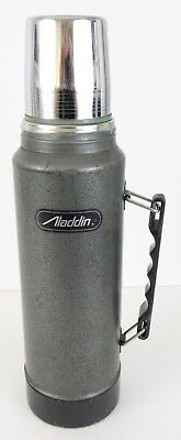 Vintage Aladdin Metal Thermos Quart No. SB950H Hot/Cold Stanley Replacement Cup