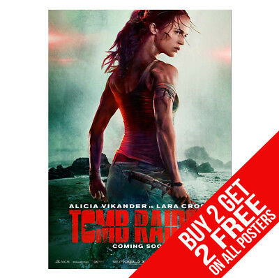 Tomb Raider Poster Cc3 Print A4 A3 Size -Buy 2 Get Any 2 Free