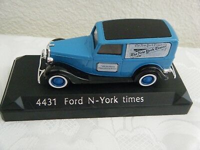 "Solido #4431 - ""The New York Times"" Die-cast Ford 1936 Delivery Truck 1:43"