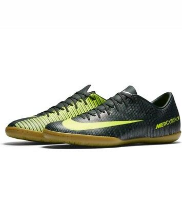 save off b6b8a f1fe0 Nike MercurialX Victory VI CR7 IC Indoor Soccer Shoes Men s 7.5 C Ronaldo  New