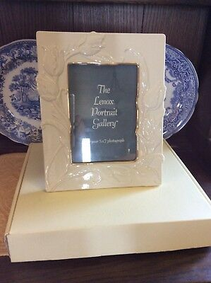 lenox tulip picture frame 5x7