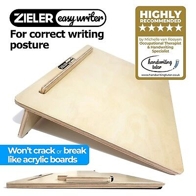 Ergonomic Writing Slope/Slant Board for better writing posture - by ZIELER Easyw