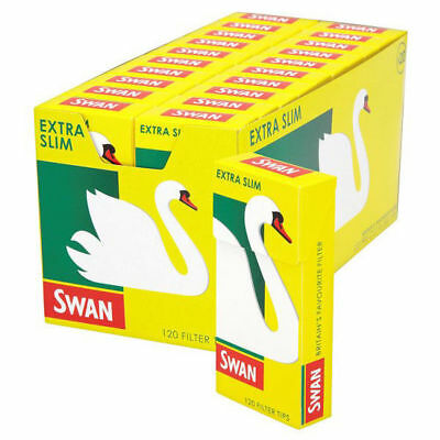 Swan Extra Slim Pre Cut CIGARETTE FILTER TIPS ROLLING SAME Day DISPATCH Cheapest