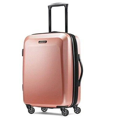 American Tourister Moonlight 21 Expandable Hardside Hardside Checked NEW