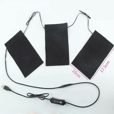 Electric Heating Pads DIY Thermal Vest Heat Jacket Outdoor Mobile Warming Gear w