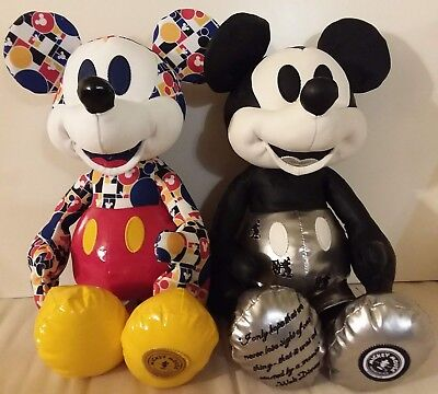 Disney Steamboat Silver & March Mickey Mouse Memories Limited Edition Plush Set