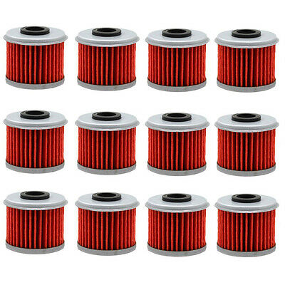 Hiflo HF116 Premium Replacement Motorcycle Oil Filters Multipack X 6