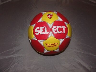 Select Handball Spielball Tucana Talent gelb-rot Gr. 1 Neu