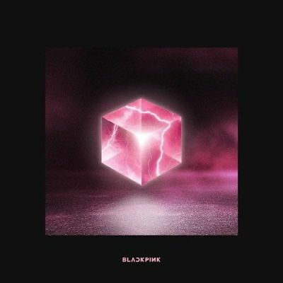 BLACKPINK-[Square Up]1st Mini Album Black Ver CD+Booklet+PhotoCard K-POP Sealed