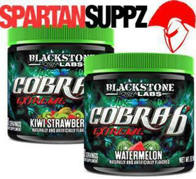 Blackstone Labs COBRA EXTREME Thermogenic Fat Burner 60 Serves 2 Flavours