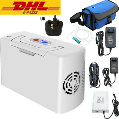 3L Portable Oxygen Concentrator Generator Health Care Home Travel Car Li Battery