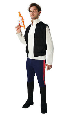 Mens Deluxe Han Solo Star Wars Story Movie Halloween Fancy Dress Costume Outfit