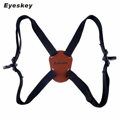 X-Shaped Harness Strap Adjustable Binoculars Carrier Elastic Durable Shoulder St