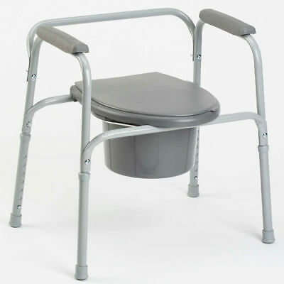 Static Mobility Toilet Frame Commode Disability Aid - Support Elderly & Disabled