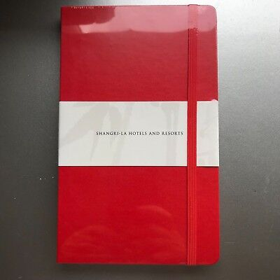 MOLESKINE LARGE RULED NOTEBOOK - RED  - 21cm x 13cm