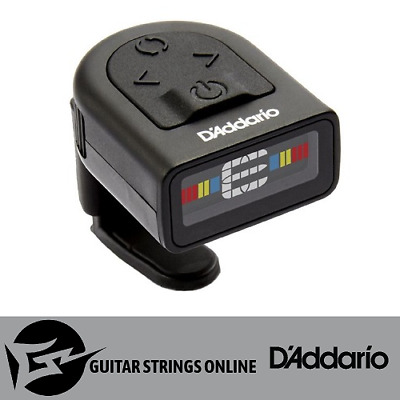 """1 x D'Addario Planet Waves NS Micro Headstock Clip-On Tuner PW-CT-12 """"Brand New"""""""