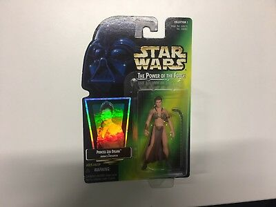 Star Wars The Power Of The Force Princess Leia As Jabba's Prisoner Kenner