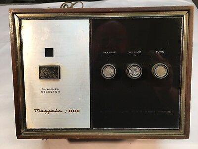 Vintage 8 Track Player Mayfair 8 Track Solid State Stereophonic