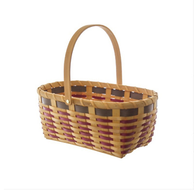 Oval Natural  Woven Basket Picnic Hamper (36x24x15cmH)