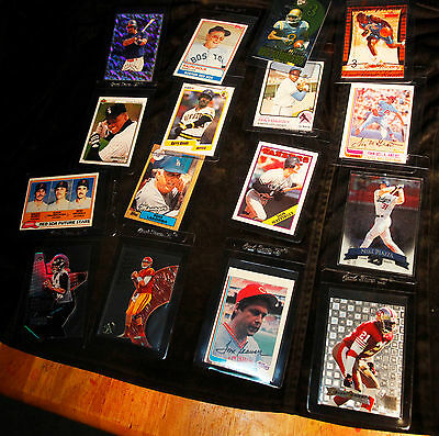 Sports card lot of 7 collections from estate  baseball basketball and football