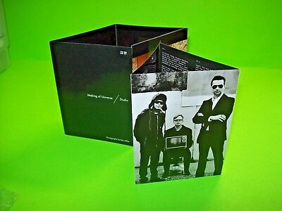 Depeche Mode ‎– Sounds Of The Universe Set Of (2) Foldout Inserts From Box Set