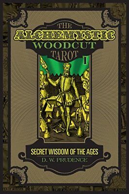 Alchemistic Woodcut Tarot Deck Cards Wiccan Pagan Metaphysical