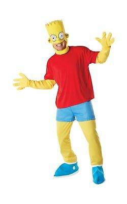 Rubie's Official Adult's The Simpsons Fancy Dress Costume- Standard .