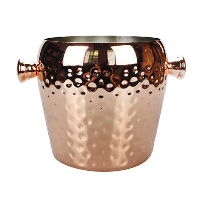 Ice Bucket Champagne Wine Drinks Cooler Retro Hammered Party Bar Xmas 1L