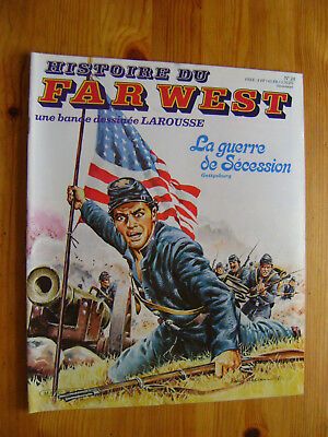 MARCELLO - Histoire du Far West en BD n° 28 - La guerre de Sécession Gettysburg