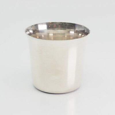 Vintage sterling silver Tiffany & Co. Makers cup goblet tumbler