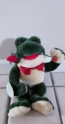 Singing & Dancing Frog Rose Don Juan Romantic Tango Mills Valentine's Sweet Love
