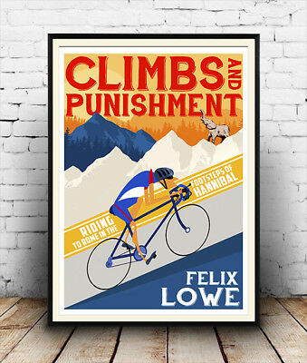 Vintage Cycling  poster reproduction Gitane 76