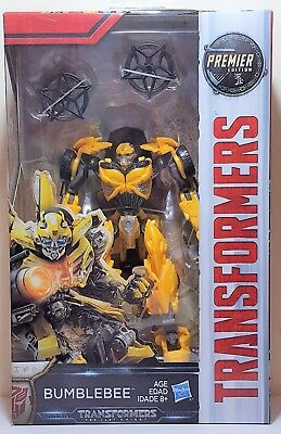 Transformers Bumblebee Deluxe Class 15 Steps The Last Knight Premier Edition