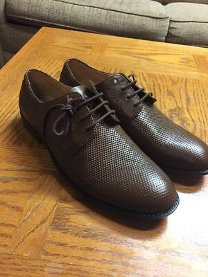 da00d5c5ca9 STEVE MADDEN MEN'S 'P-Septor' Brown Leather Lace Up Oxford Shoes Sz ...
