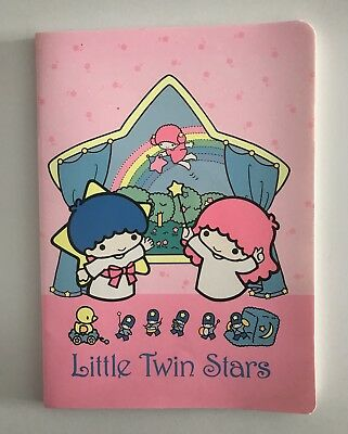 Sanrio vintage LITTLE TWIN STARS 1976- 1987 notebook new!